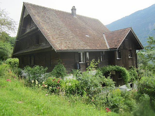Rooms in a Original Swiss Farmhouse
