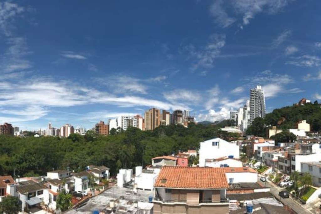 Vista desde la terraza/ View from the terrace