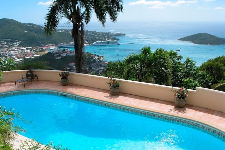 Luxury villa in the Virgin Islands