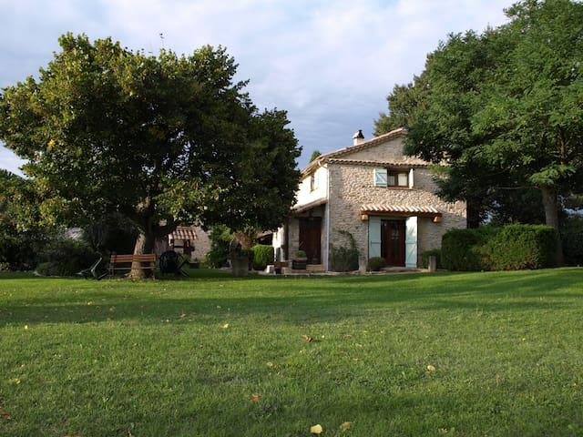 Mas à 20 km de Montélimar capacité 19 personnes - Cléon-d'Andran - House