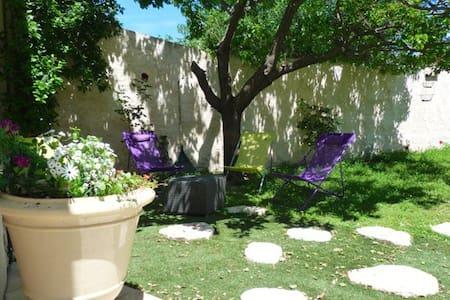 Jolie maison pour 4 p. avec terrasses et jardin - Le Pouget