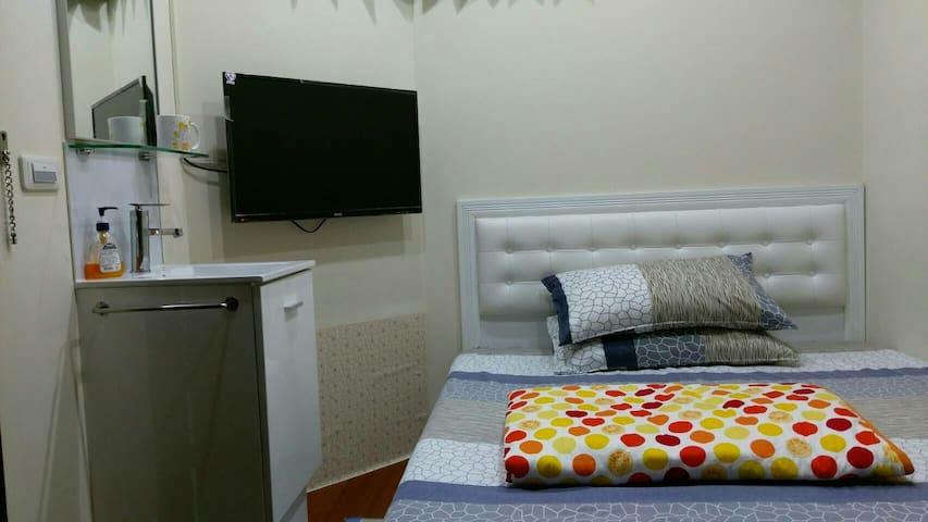 永春棧 Rm203 Kozzy Apartment個室/MRT Yongchun永春站/101,夜市