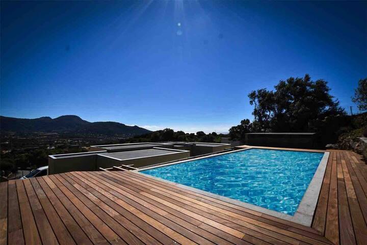 Maison avec piscine, proche de l'Île-Rousse