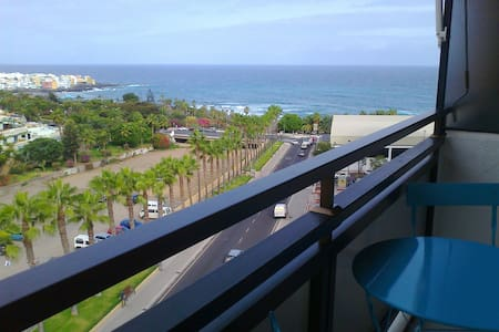 Estudio con vistas a Playa Jardín - プエルト·デ·ラ·クルス - アパート