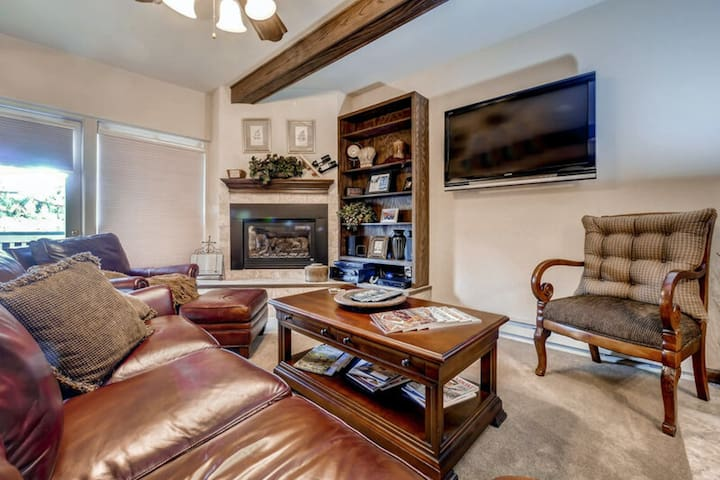 Luxury studio w/ spacious layout, private balcony, & easy slope access!