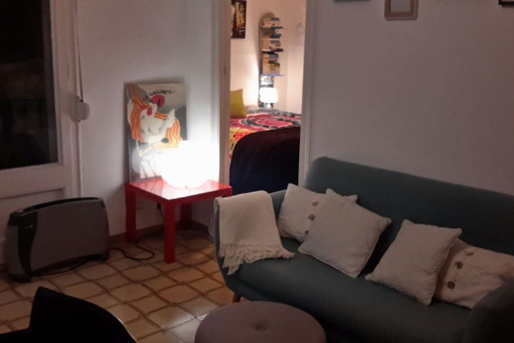 Lving area + Room 1