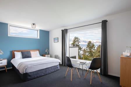 Doppelzimmer mit Panorama Aussicht und eigenem Bad