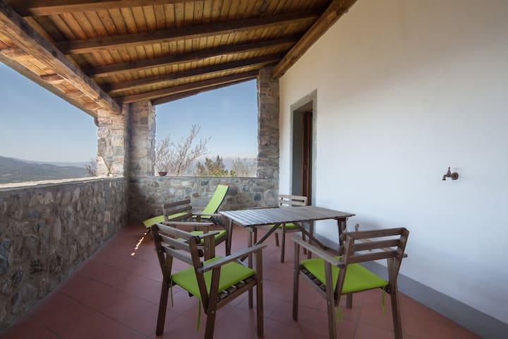 appartamento in casa medievale