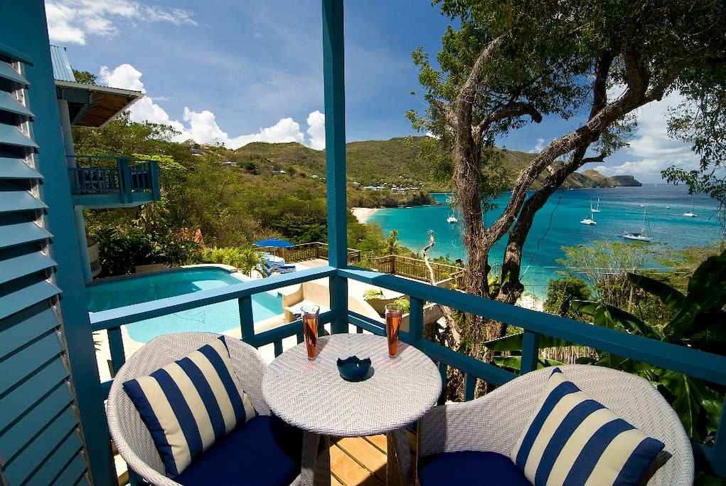 Your own balcony with wow views!
