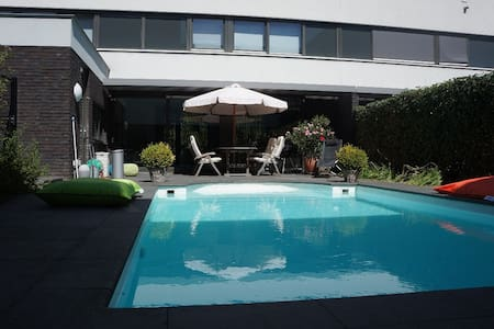 New! Villa with swimmingpool/garden in Maastricht - Maastricht - Huvila