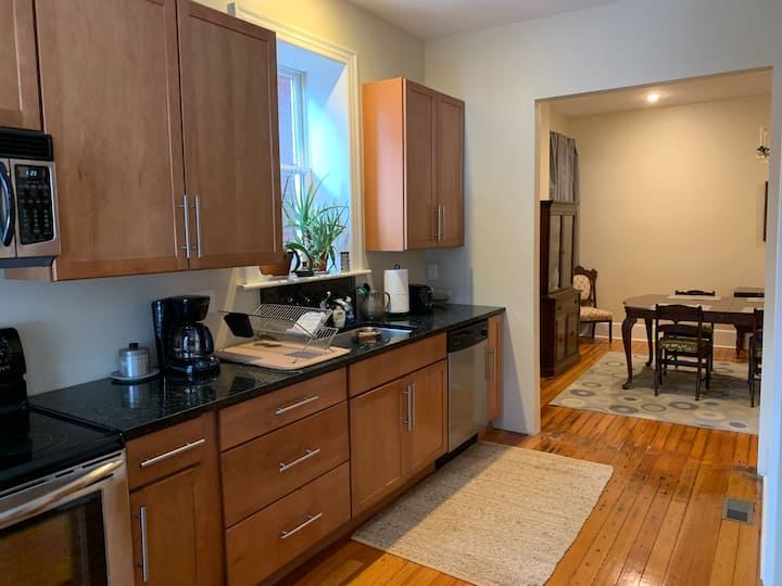 Spacious APT near all attractions -walk to SLU Med