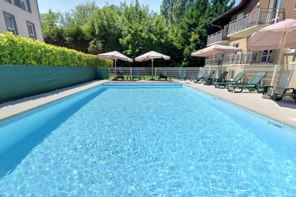 With Swimming Pool At The Edge Of The Evian 39 S Golf