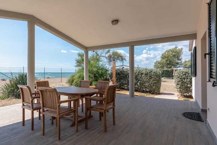 Villa Alessandri - Direttamente sulla Spiaggia