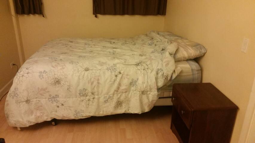 Jell top queen bed
