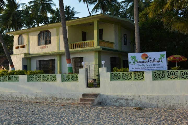 Coconut cottage family beach house