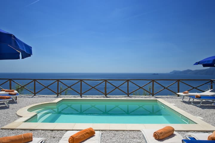 Villa Lilmar Luxury apt. Praiano