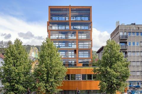Välkommen till Lillehammers modernaste byggnad!