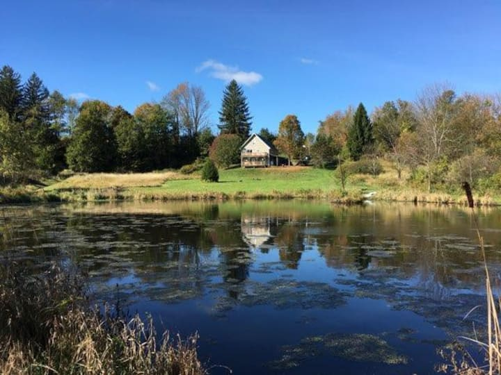 Private Estate w/ Pond on 16+ Lush Acres