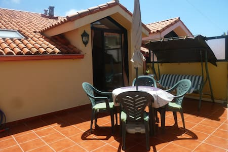 Céntrico ático con terraza
