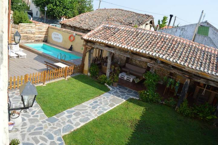House with 6 bedrooms in Campo de Cuéllar, with private pool and enclosed garden