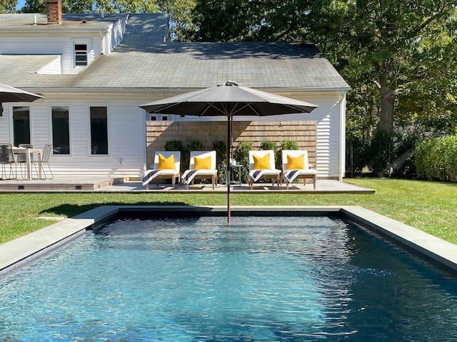 Bellport 4bd | Pool | Deck | Yard | Outdr Shwr