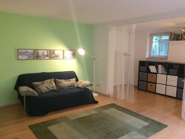 Spacious studio right by beautiful English garden! - München - Talo