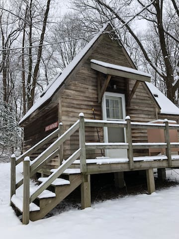 Fairy Cabin on 128 Acre Forest Park and Reserve