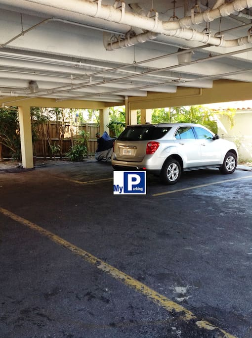 One Free Parking Space.
