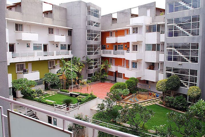 Service Apartment for rent basis in Marathahalli.