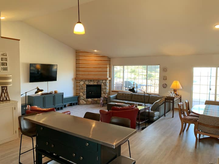 Open concept 4 bedroom/3 bath available for DNC