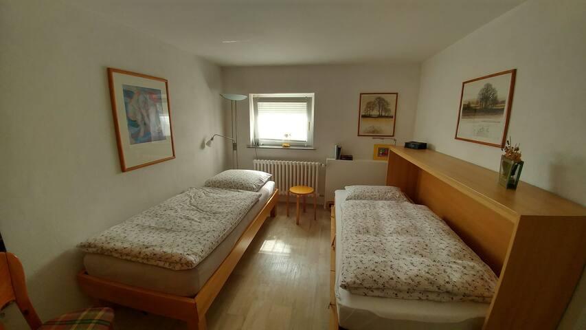 Raum 2- 2x Einzelbett