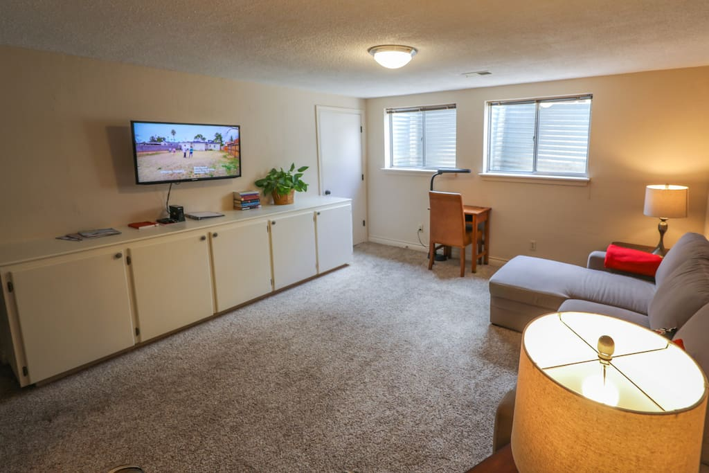Another view... Samsung TV including Dish TV