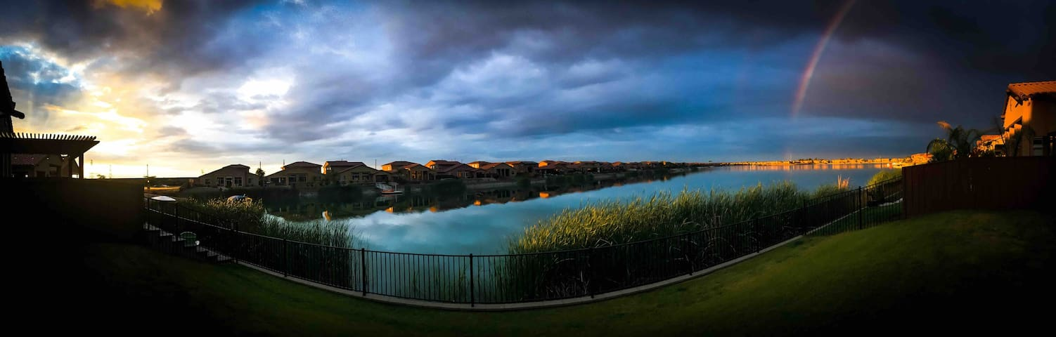 LAKE VIEW HOME IN BEAUTIFUL GATED COMMUNITY