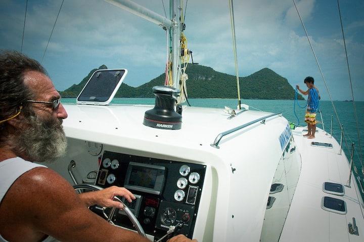 Sailing catamaran NAUTINESS - Samui
