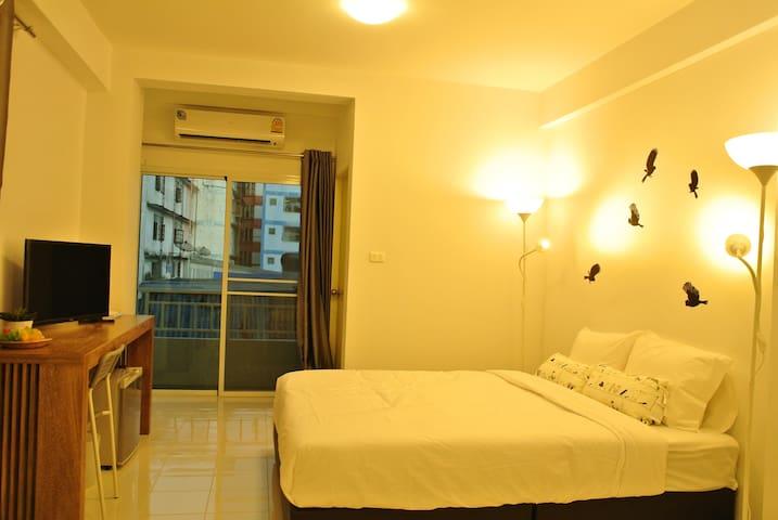 V Suvarnbhumi Apartment  时尚而干净的公寓