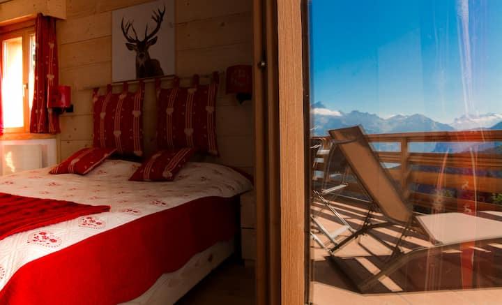 """Bristol """"Massif du Mont Blanc"""", avec balcon et vue"""