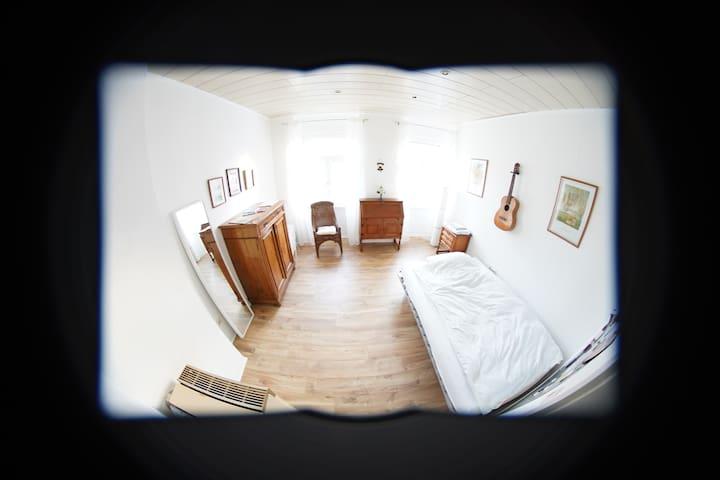 Helles Zimmer in extravaganter Wohnung Altstadtnah