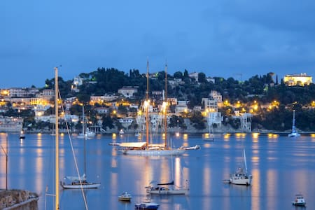 Magic Bay View, Direct Beach Access, 4 Guests Cap. - Villefranche-sur-Mer