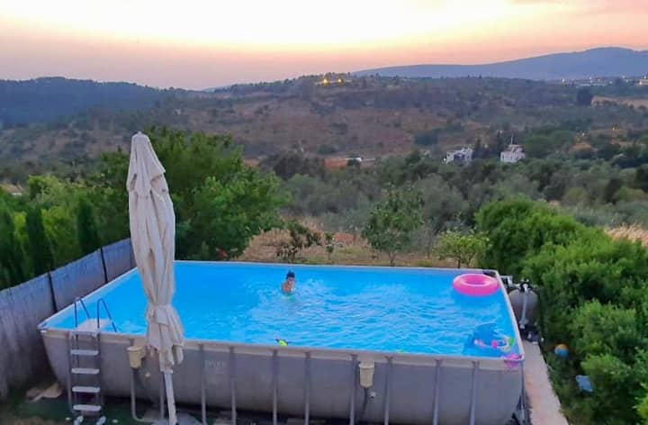 Villa Galilee with Pool, Gym and Open Views