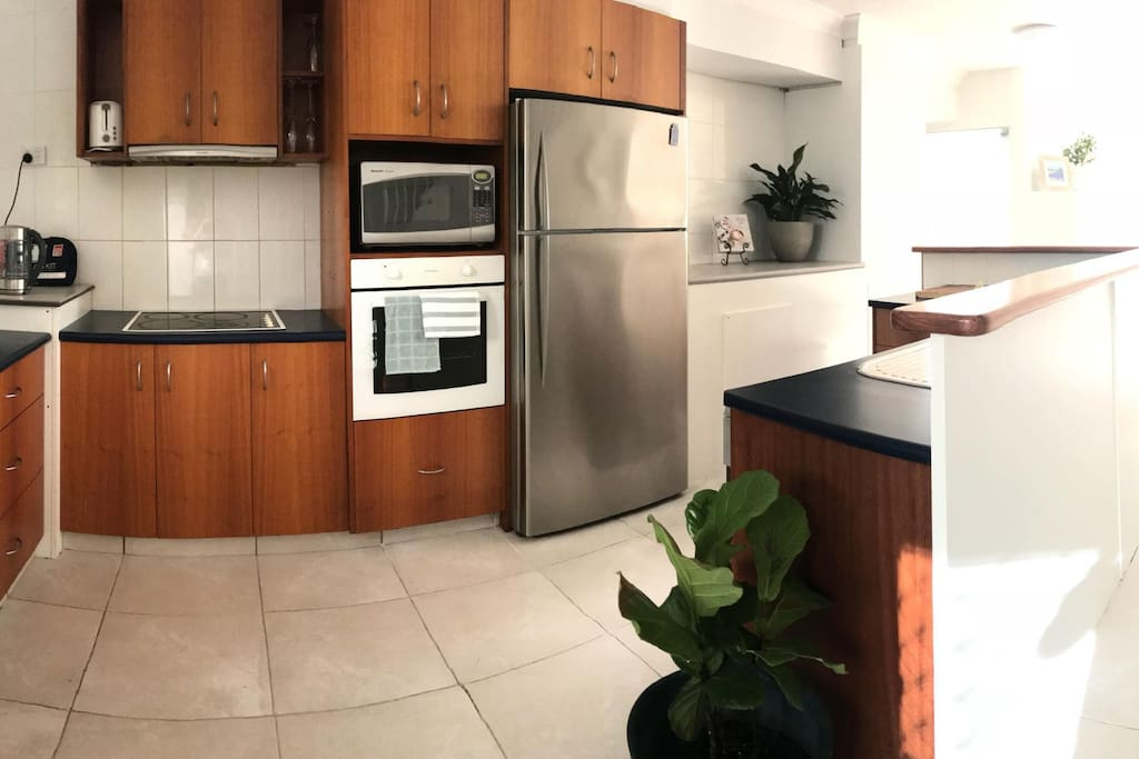 Full access to kitchen and all appliances