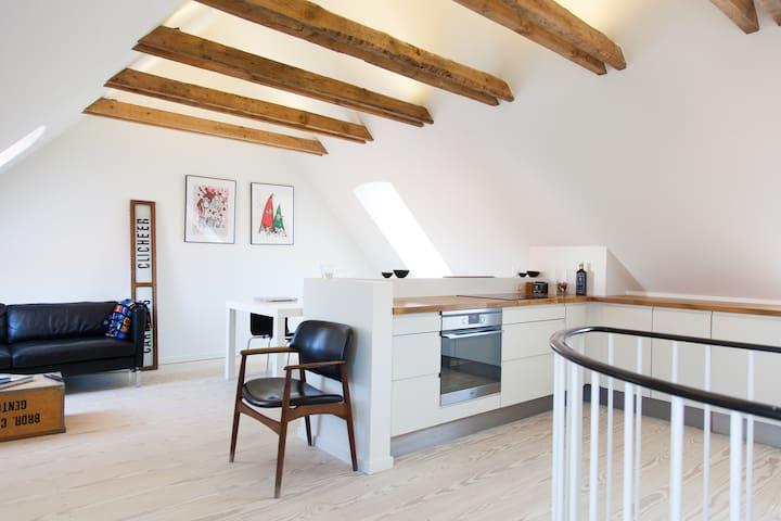 Best location-Cosy townhouse-109m2 - Kopenhag - Daire