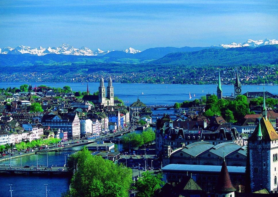 Zürich from above