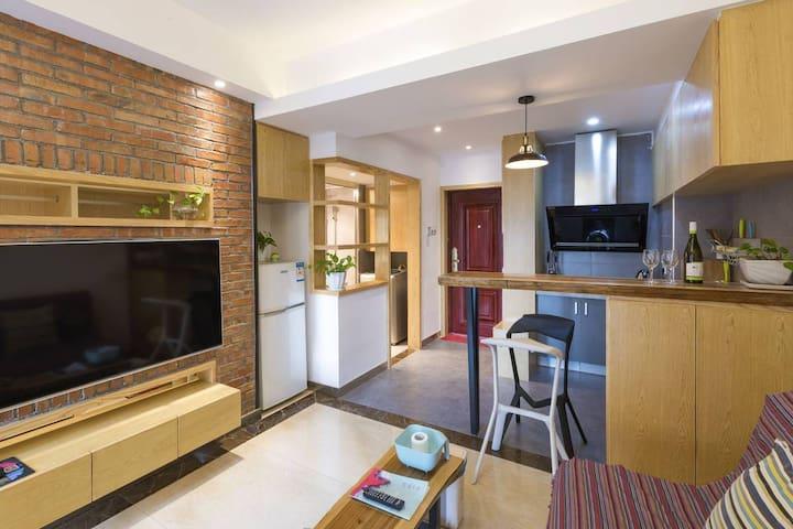 干净舒适的小两房居室,轻松惬意温馨的格调,适合都市白领短期出差或旅行。 - Changsha Shi - Apartament