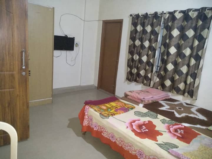 Budget Double bed room with attached bath