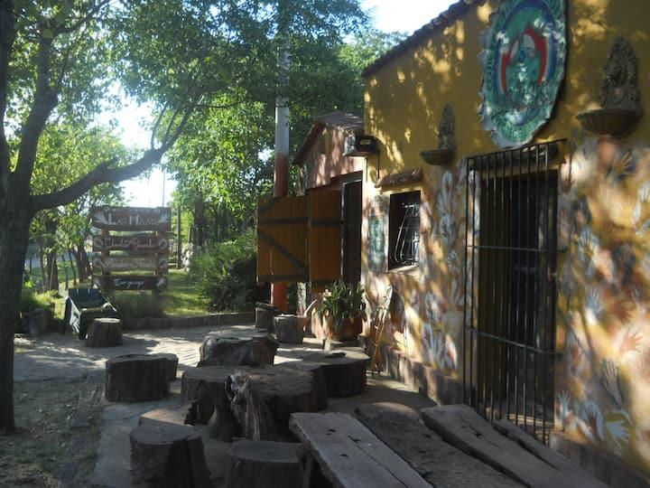 Casita de campo  del Camping Las Manos