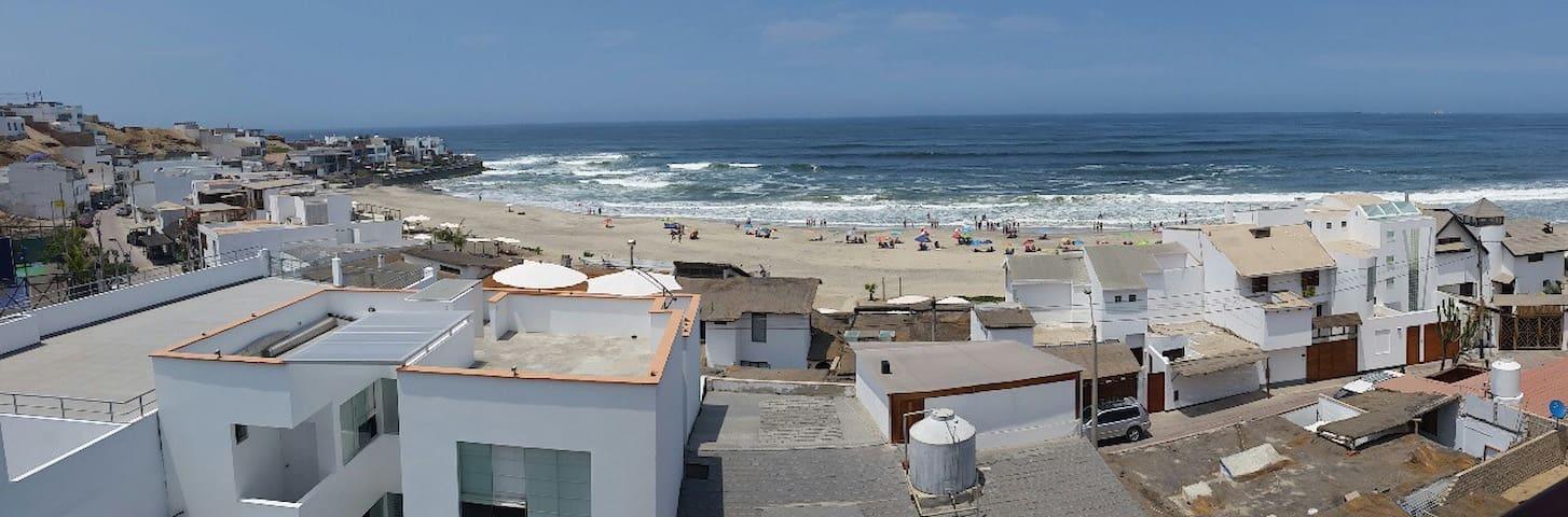 Vacaciones inolvidables en playa pulpos