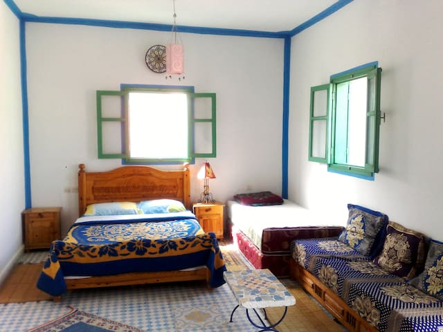 Abdou, guest house - private room - Mirleft - Casa