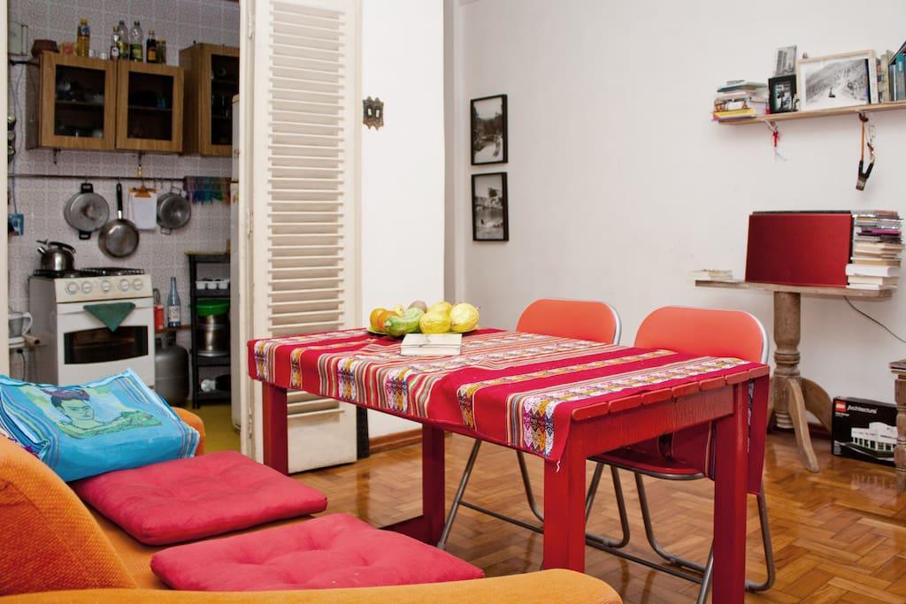 Comfortable apartment near Praça 7