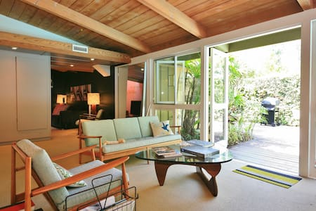 Mid Century Modern in Long Beach CA, Guest Room 1 - 長灘