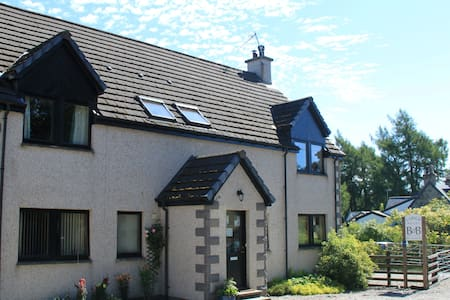 Cosy Friendly Highland Home - Newtonmore - Oda + Kahvaltı